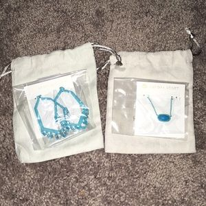 Thomas Earrings + Elisa Necklace SET
